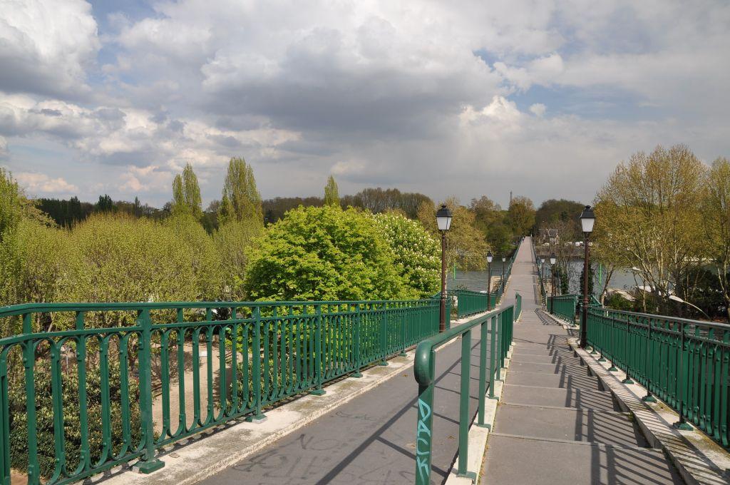 Randonnée GR1 – Etape 1 : Porte Maillot à Gare de Garches Marnes la Coquette